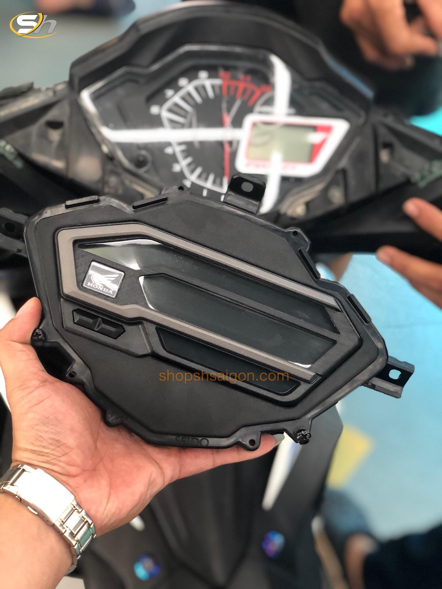 Bộ đồng hồ Winner X gắn cho Winner V1/ RS150R/ Supra GTS 5