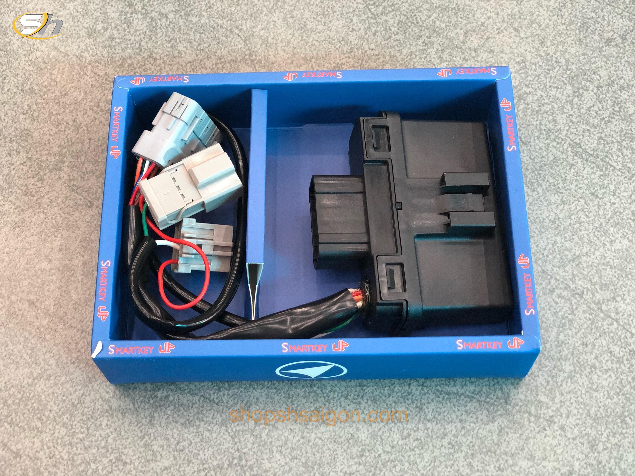 Bộ ECU Chống cướp - Quên tắt máy xe SMARTKEY UP 4