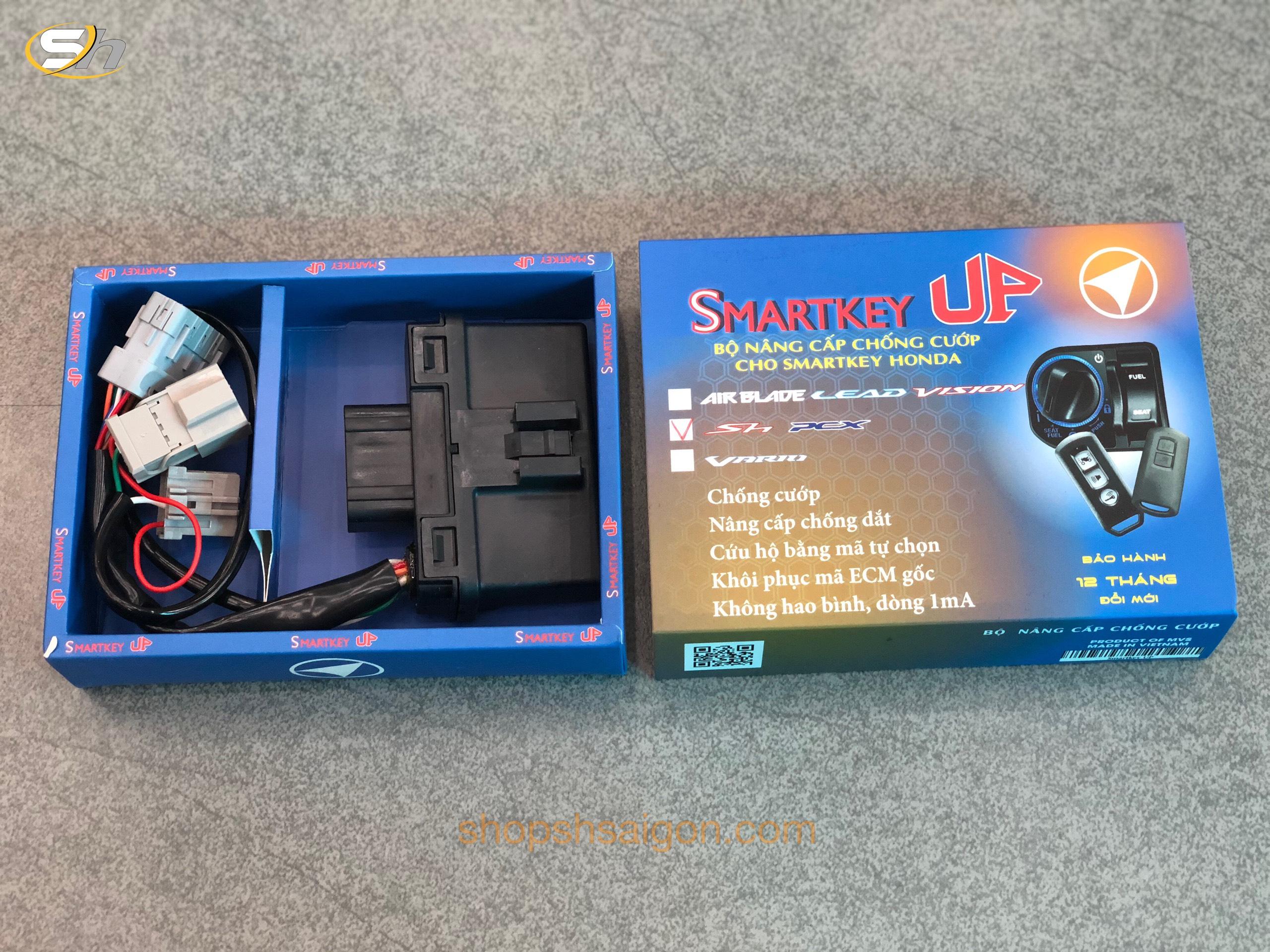 Bộ ECU Chống cướp - Quên tắt máy xe SMARTKEY UP 3