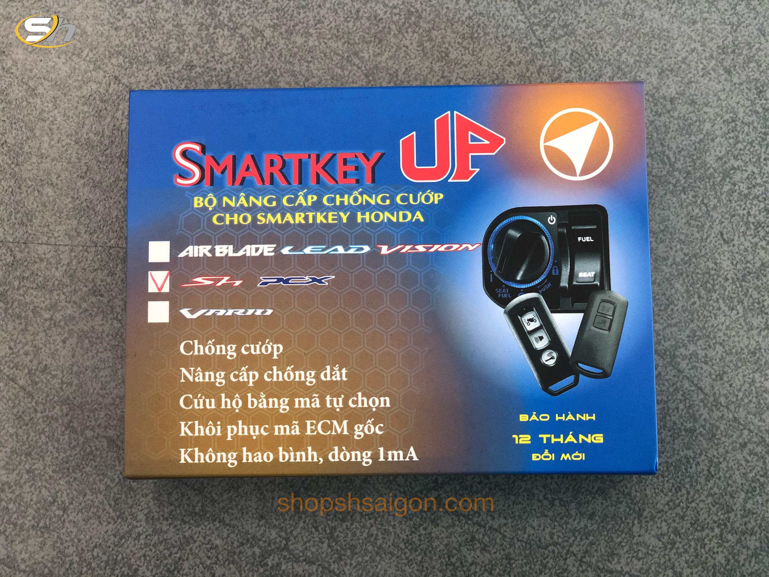 Bộ ECU Chống cướp - Quên tắt máy xe SMARTKEY UP 6