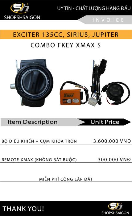 giá smartkey xmax