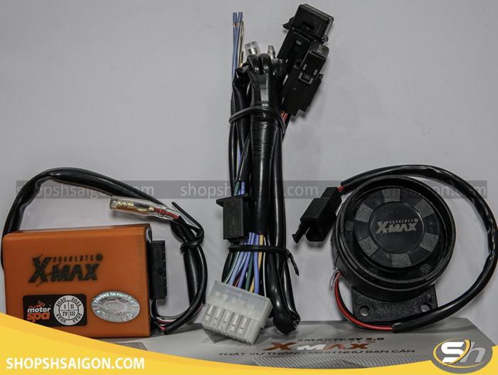 Xmax S Full Combo Cùm xoay Tròn (EX135) 1