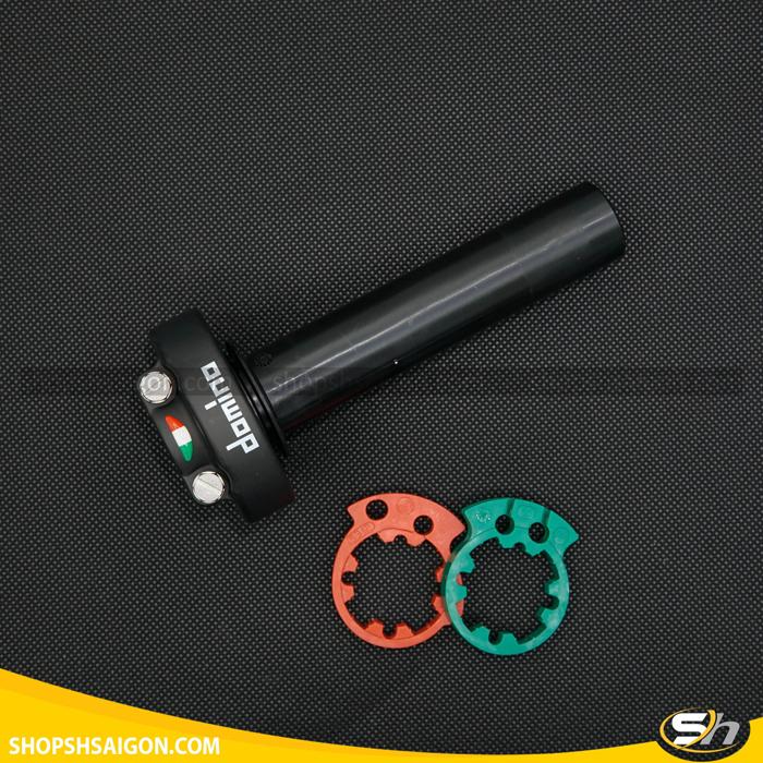 Cùm Tăng Tốc Domino 4006.03-00 (Đen) chính hãng Italy 6